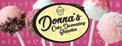 Donnas Cake Decorating Supplies banner 3