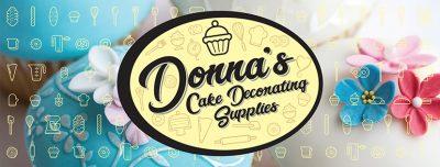Donnas Cake Decorating Supplies Banner 2
