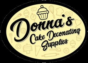 Donnas Cake Decorating Supplies Logo