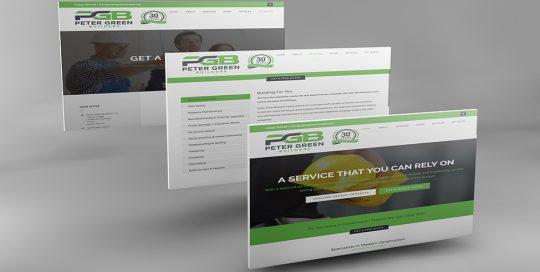 Peter Green Builders website