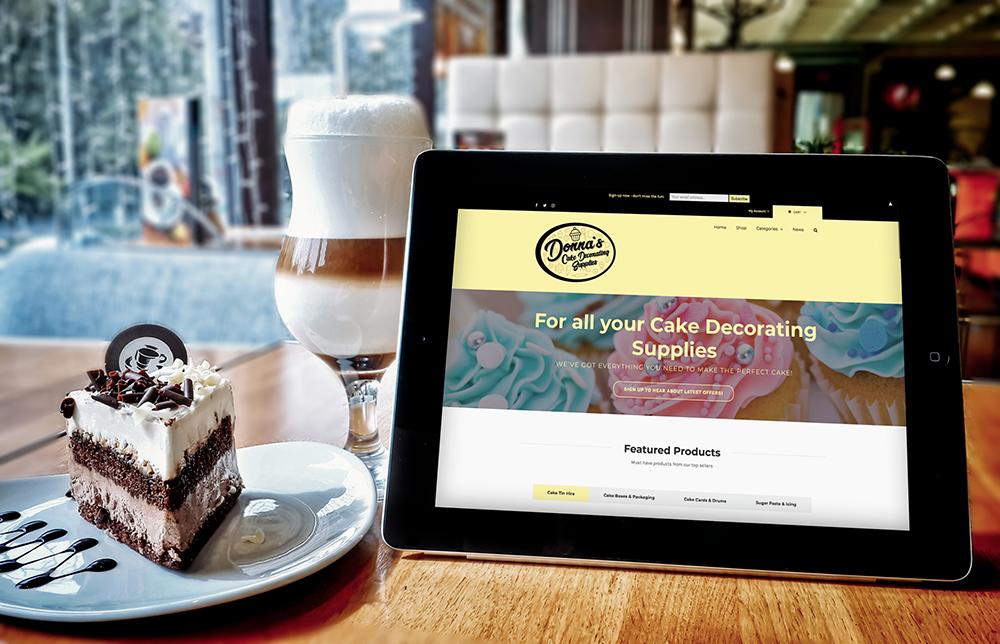 Donnas Cake Decorating Supplies Website