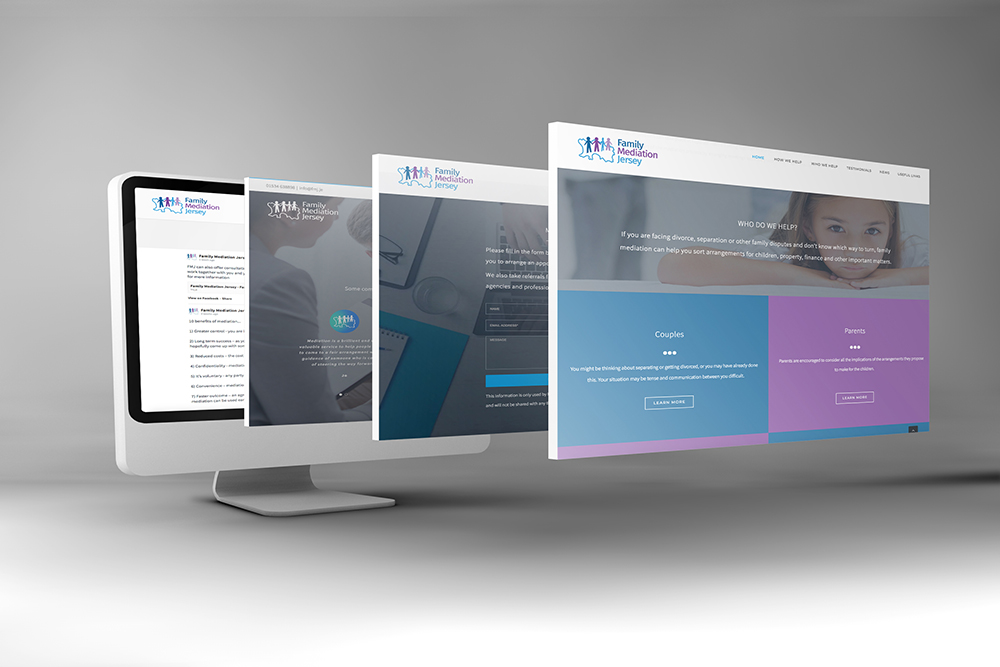 Landfield Drive Residents Association Website design by webby design