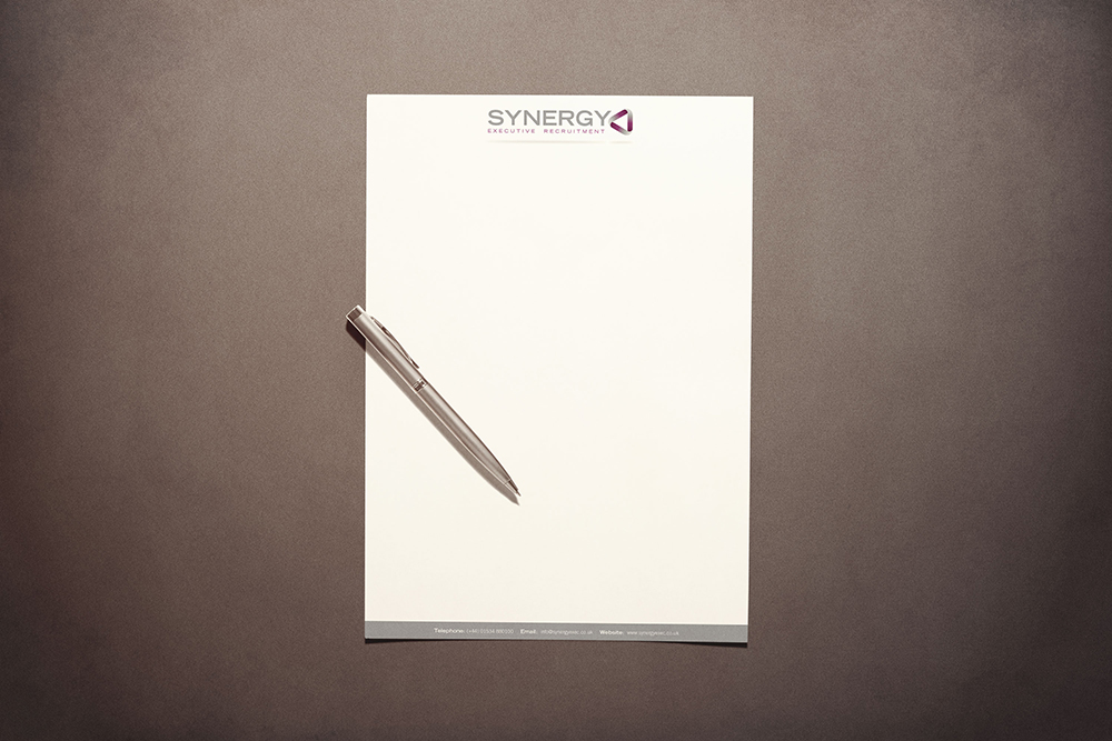 Synergy Secretarial Letterhead