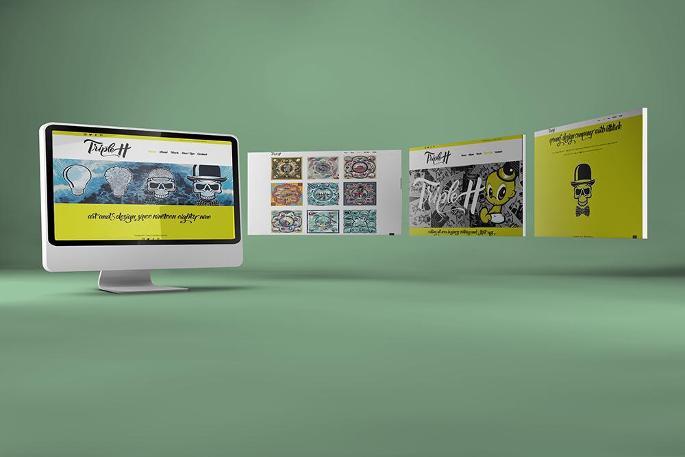 Triple H Website design