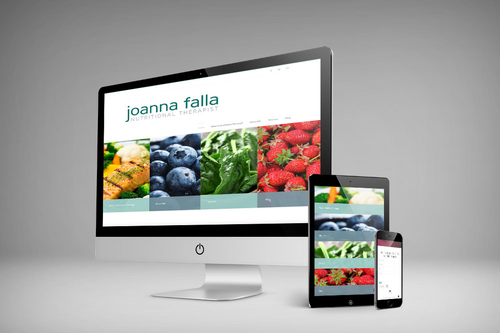 Joanna Fall website