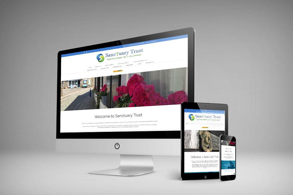 Sanctuary Trust Website