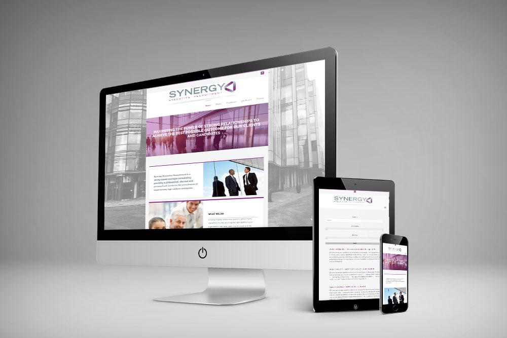 Synergy Secretarial Website