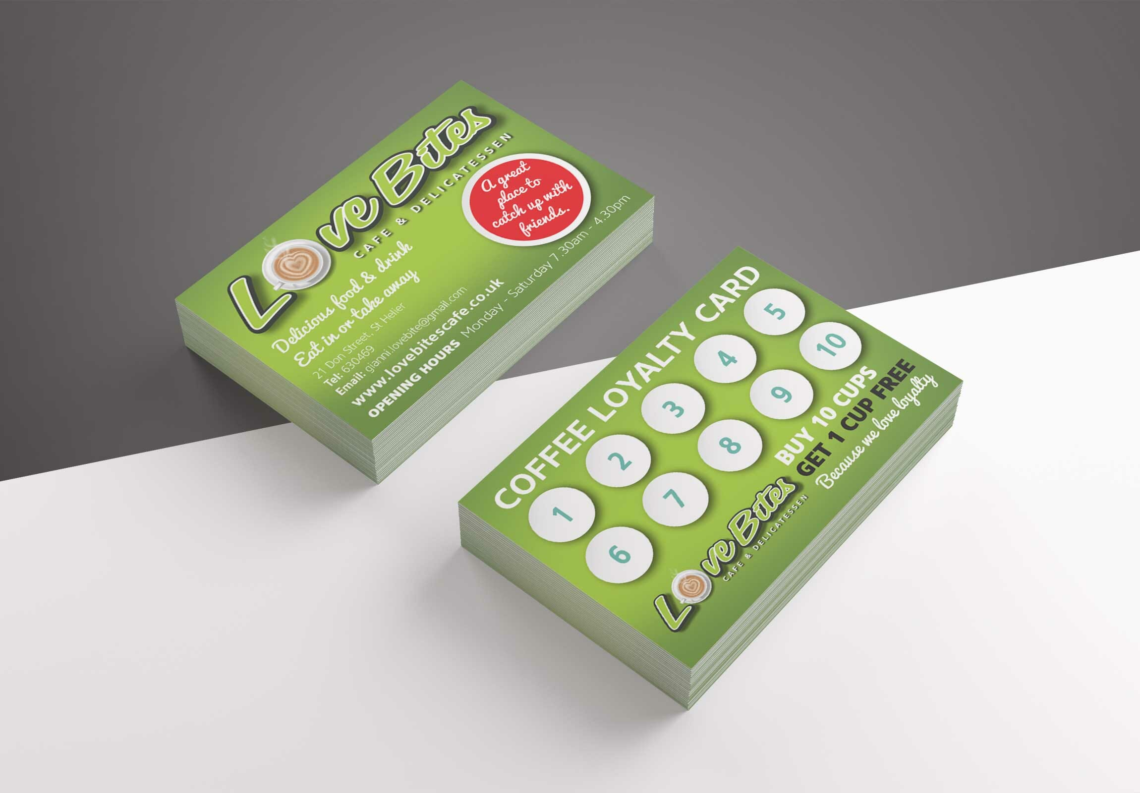 Loyalty Card design and print