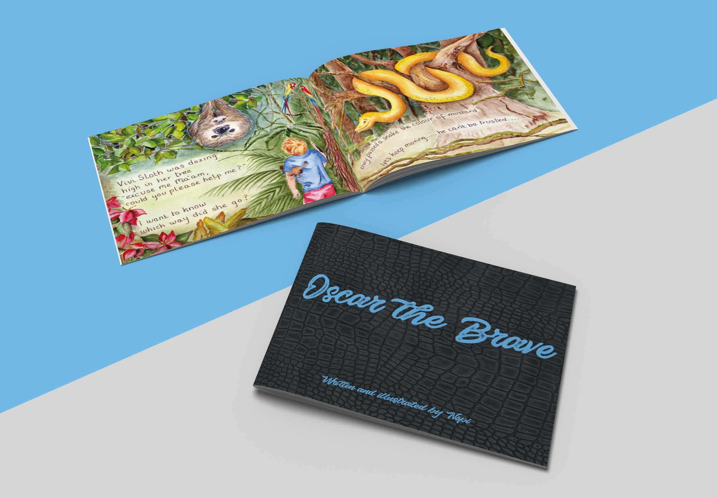 Book Design and print service