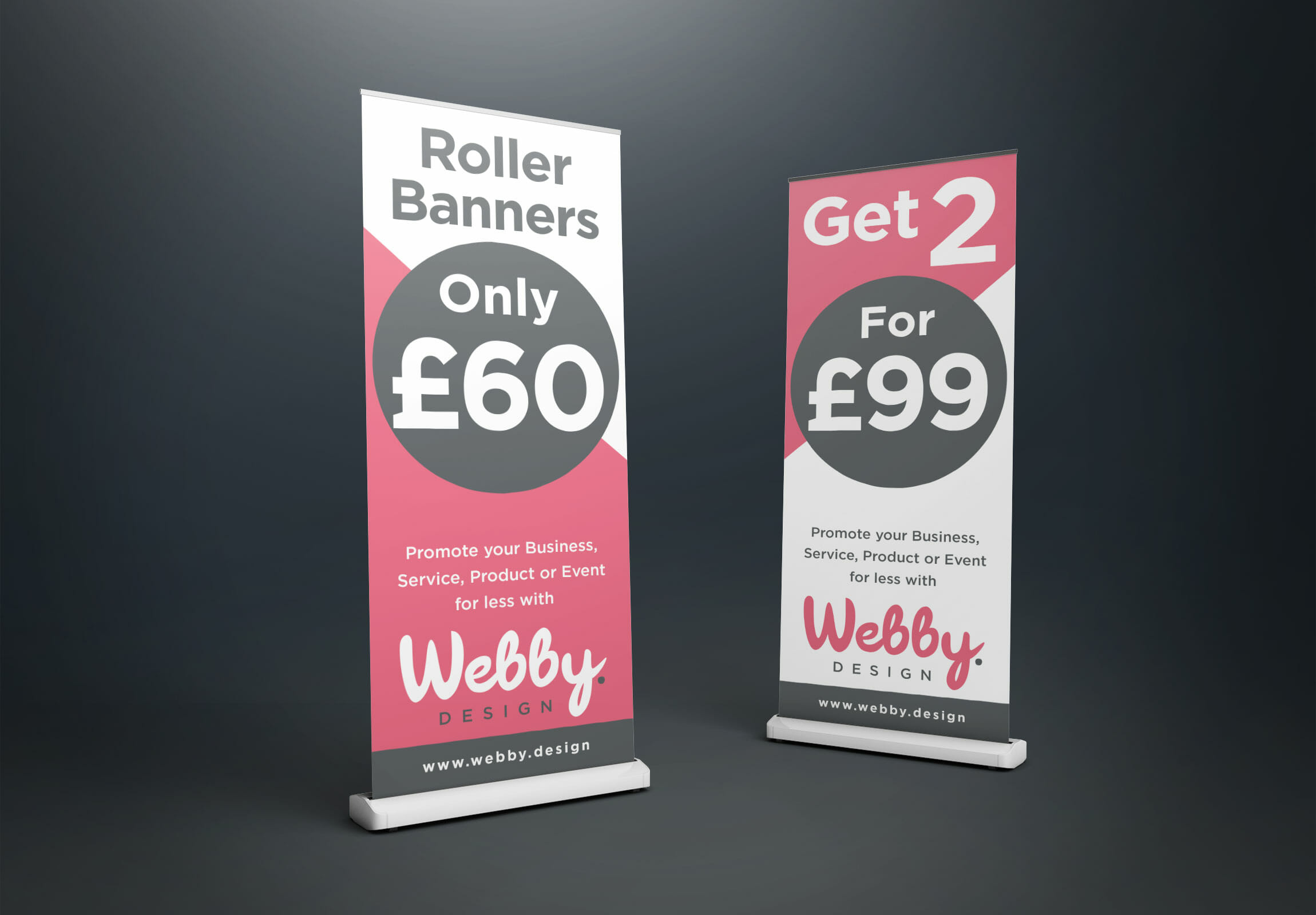 Roller Banners Pull Up Banners