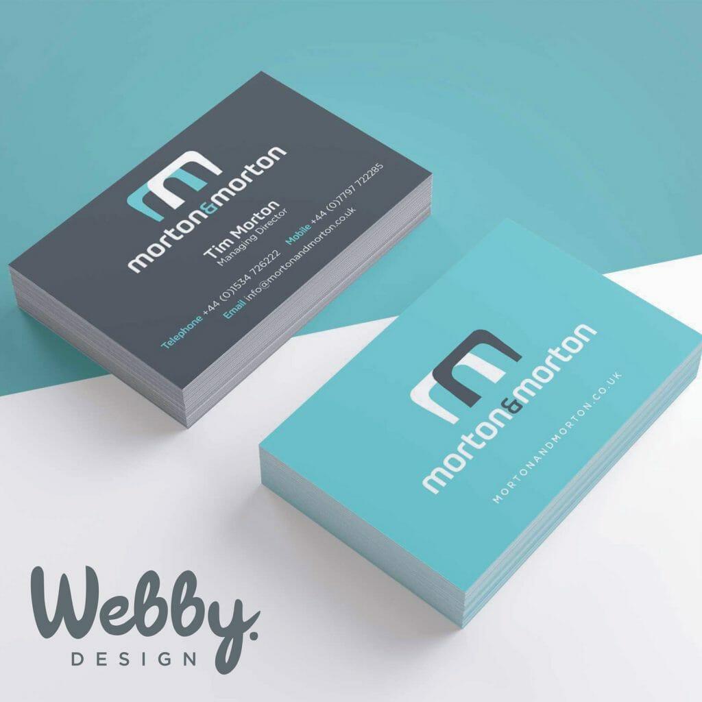Webby Design Business Card Design Service image