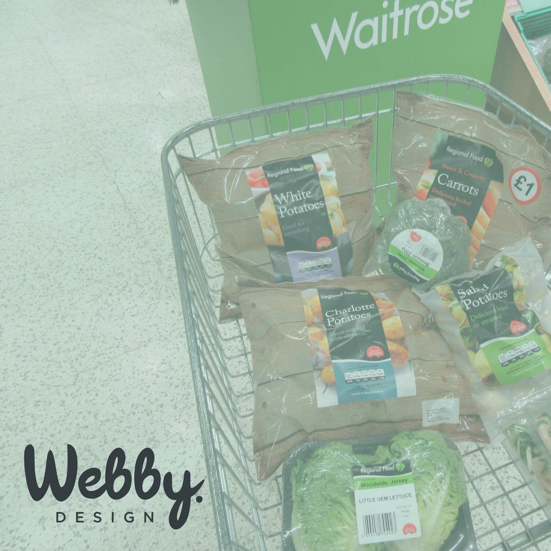 Waitrose Fresh Produce Packaging Design by Webby Design