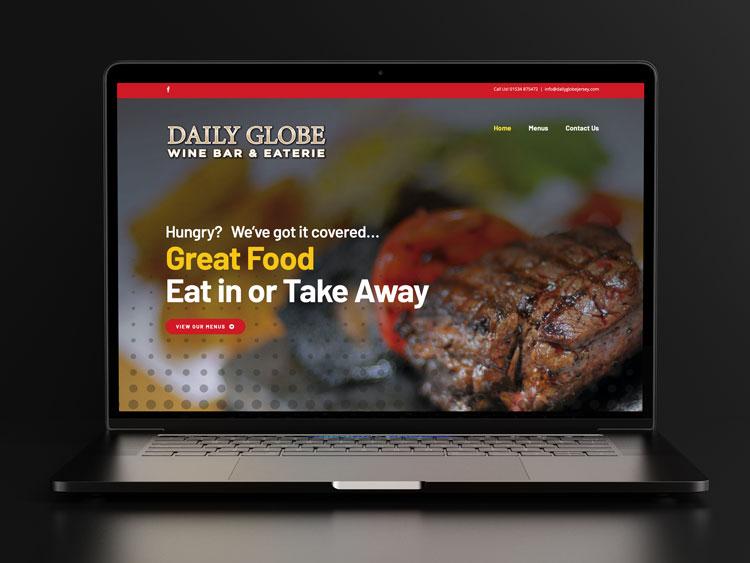 Webby Design The Daily Globe Jersey New Website