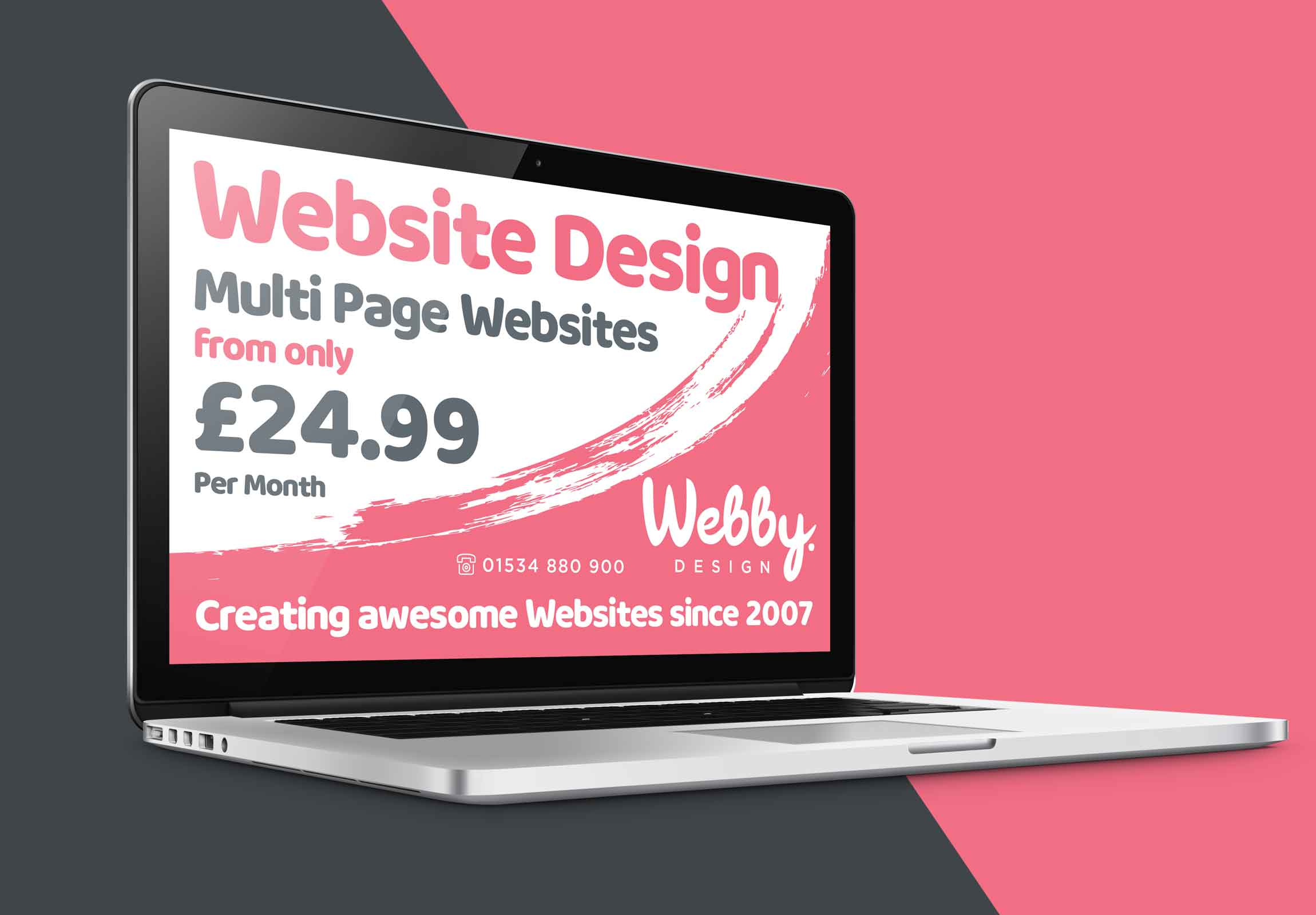 Webby.Design Pay Monthly Website design services