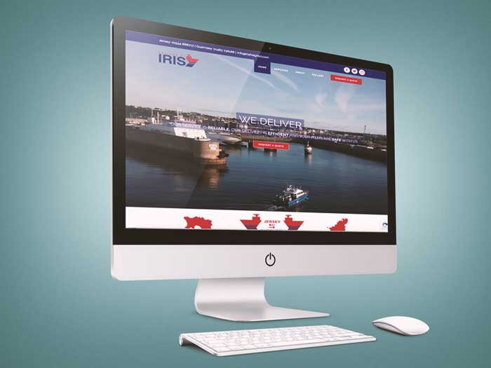 Webby Design Iris Freight Website