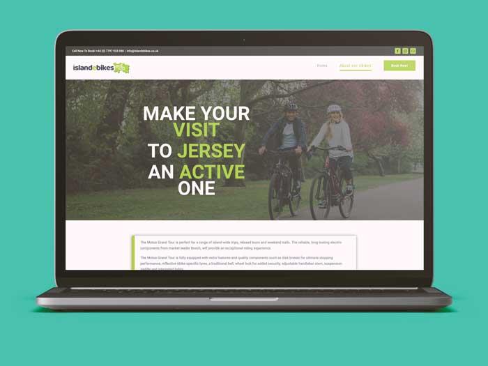 Webby Design Island E Bikes Website