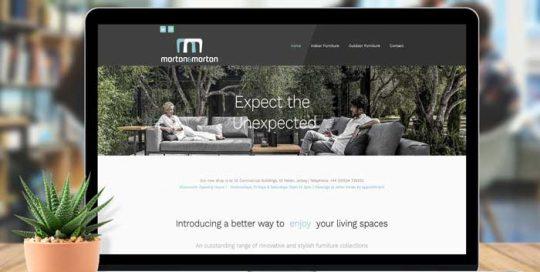 Webby Design Morton & Morton Website