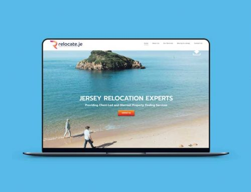 Relocate.je – Brand Design & Website Design