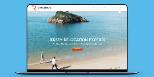 Webby Design Relocate.je Website