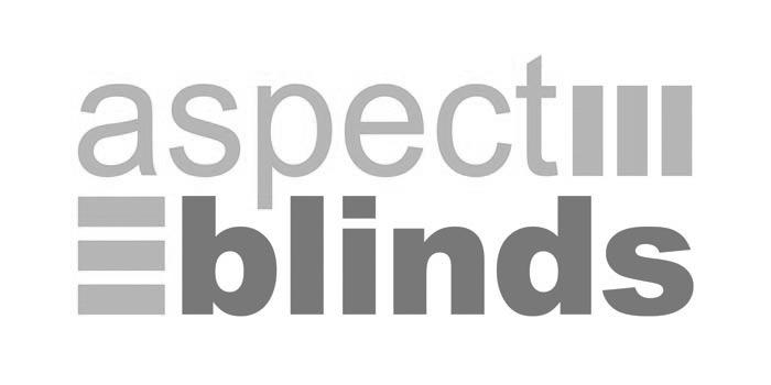 Aspect Blinds Jersey Logo