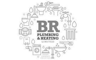 BR Plumbing & Heating Jersey Logo