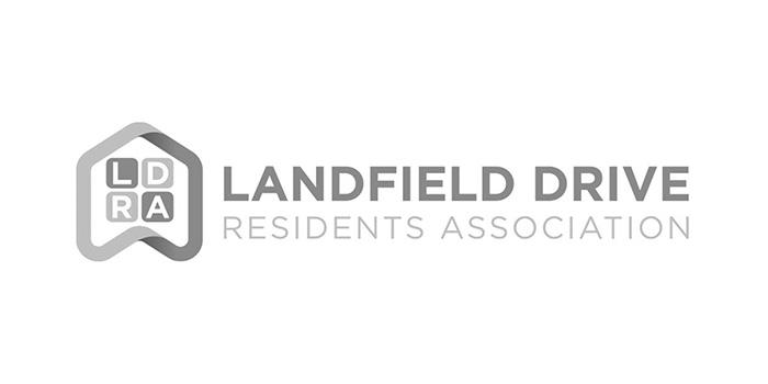 Landfield Drive Residents Association Jersey Logo