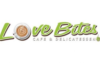 Love Bites Cafe Jersey Logo
