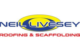 Neil Livesey Roofing & Scaffolding Jersey Logo