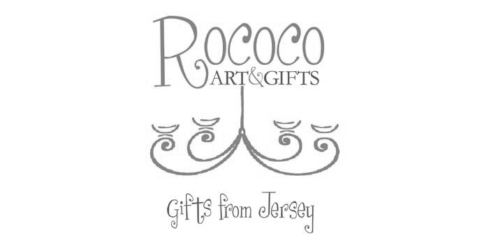 Rococo Art & Gifts Jersey Logo