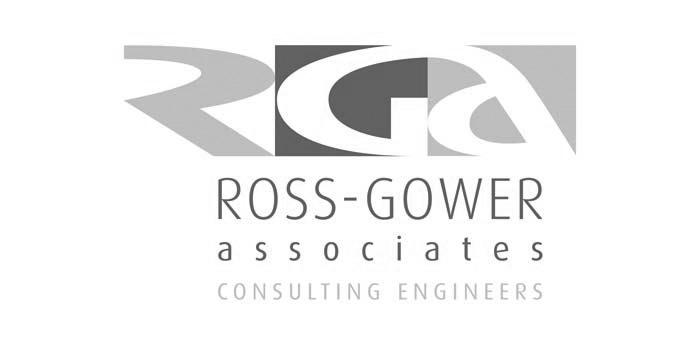 Ross Gower Associates Jersey Logo