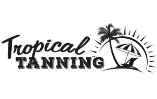 Tropical Tanning Salon Jersey Logo