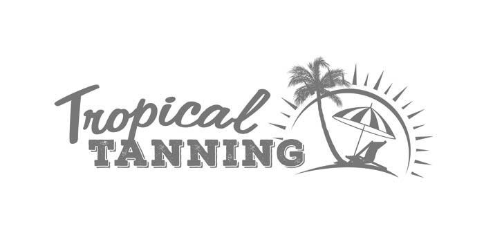 Tropical Tanning Salon Jersey Logo