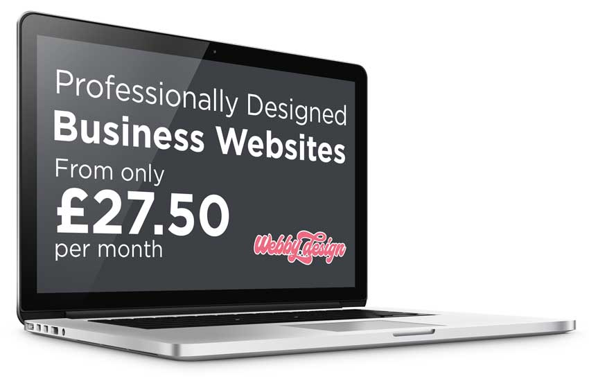 Webby Design Website design services