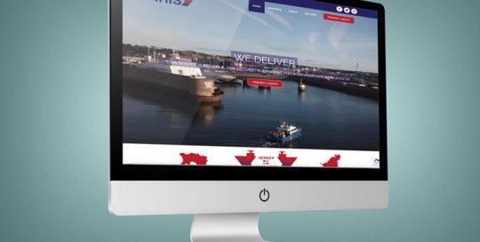 Webby Design Iris Freight Website