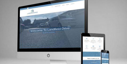 Webby Design Landfield Drive Residents Association Website