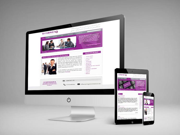 Webby Design Synergy Secretarial Website